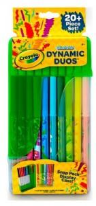 Набор Crayola '10 фломастеров классических цветов и 10 ароматизированных фломастеров пастельных цветов' (04-6829)