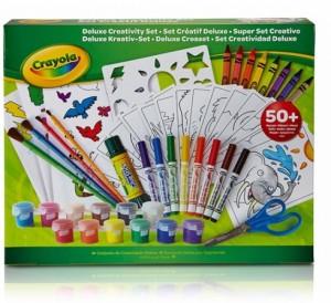Мультинабор для творчества Crayola с красками и фломастерами (04-0297)