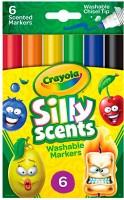 Набор Crayola '6 ароматизированных смываемых фломастеров' (58-8197)