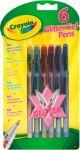 Набор Crayola '6 гелевых ручек с блестками' (7747)