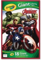 Большая раскраска Crayola Avengers 18 стр. (04-0196)