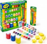 Большой набор для творчества Crayola с красками и кисточками (54-0155)