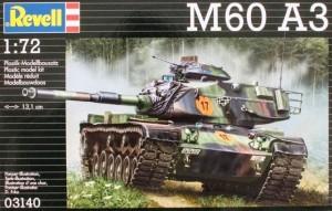 Сборная модель Revell 'Танк M60 A3' 1:72 (03140)