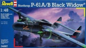 Сборная модель Revell 'Истребитель P-61A/B Black Widow' 1:48 (04887)