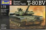 Сборная модель Revell 'Основной боевой танк T-80BV' 1:72 (03106)