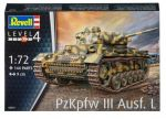 Сборная модель Revell 'Средний немецкий танк Pz. Kpfw III Ausf. L' 1:72 (03251)