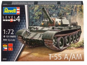 Сборная модель Revell 'Средний танк Т-55A/AM' 1:72 (03304)