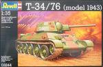 Сборная модель Revell 'Танк T-34/76 (model 1943)' 1:35 (03244)
