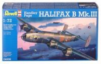 Сборная модель Revell 'Тяжелый бомбардировщик Handley Page Halifax Mk.III' 1:72 (04936)