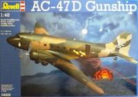 Сборная модель Revell 'Боевой самолет AC-47D Gunship' 1:48 (04926)
