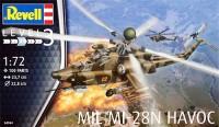Сборная модель Revell 'Ударный вертолет Mil Mi-28N Havoc' 1:72 (04944)