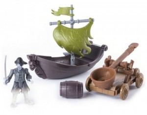 Игровой набор Spin Master 'На абордаж' The Pirates of the Caribbean 'Лесаро с катапультой' (SM73102-1)