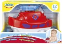 Игрушка для купания BeBeLino 'Кораблик-фонтан, красный' (58049-3)