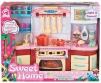 Игровой набор QunFengToys 'Кухня кукольная' (2801S/R)