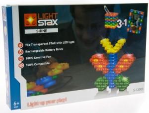Конструктор Light Stax 'Shine' с LED подсветкой (LS-S12003)