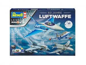 Сборная модель Revell 'Model Set Geschenkset 60 Jahre Luftwaffe' 1:72 (05797)