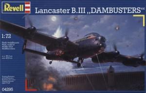 Сборная модель Revell 'Бомбардировщик Lancaster B.III Dambusters' 1:72 (04295)