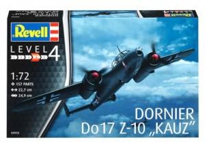 Сборная модель Revell 'Истребитель Dornier Do 17Z-10 Kauz' 1:72 (03933)