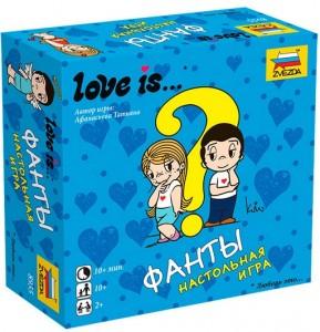 Настольная игра Звезда 'Love is… Фанты' (8955)