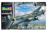 Сборная модель Revell 'Бомбардировщик Junkers Ju88 A-4' 1:48 (03935)