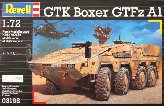 Купить Сборная модель Revell 'Бронетранспортер GTK Boxer (GTFZ A1)' 1:72 (03198)