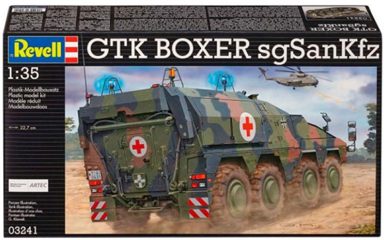 Купить Сборная модель Revell 'Бронетранспортер GTK Boxer (sgSanKfz)' 1:35 (03241)