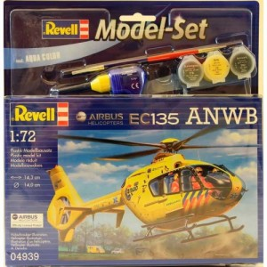 Сборная модель Revell Вертолет 'Airbus Heli EC135 ANWB' 1:72 (64939)