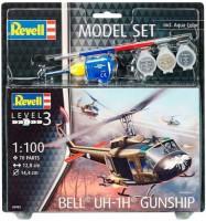 Сборная модель Revell Вертолет 'Bell UH-1H Gunship' 1:100 (64983)