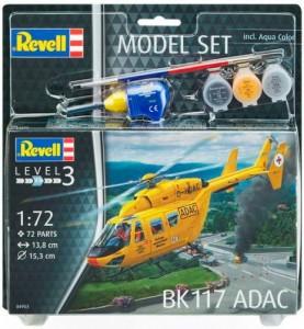 Сборная модель Revell Вертолет 'BK 117 ADAC' 1:72 (64953)