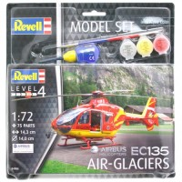 Сборная модель Revell Вертолет 'EC 135 Air-Glaciers' 1:72 (64986)