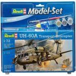 Сборная модель Revell Вертолет 'UH-60A Transport Helicopter' 1:72 (64940)