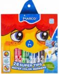 Фломастеры Marco 24 цвета Super Washable (1630-24CB)
