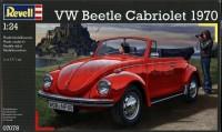 Сборная модель Revell 'Автомобиль VW Beetle Carbriolet 1970' 1:24 (07078)