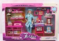 Кукла типа Барби 'Доктор' (JX100-28)