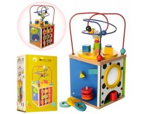Деревянная игрушка 'Игра-логика (лабиринт на проволоке)' (MD1058)