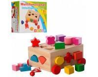 Деревянная игрушка 'Сортер-каталка' (MD0956)