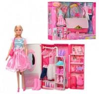 Мебель для кукол 'Гардероб в виде сумочки' (99046)