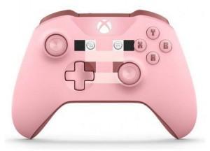 Игровой контролер Microsoft Xbox One S Wireless Controller Minecraft Pig (Лимитированное издание)
