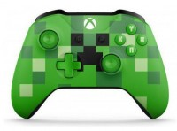 Игровой контролер Microsoft Xbox One S Wireless Controller Minecraft Creeper (Лимитированное издание)