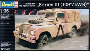Модель для сборки Revell 'Автомобиль British 4x4 Off-Road Vehicle 109; 1:35' (03246)