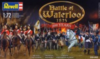 Модель для сборки Revell 'Набор фигурок Битва при Ватерлоо Battle of Waterloo 1815 - 200 Years, 1:72' (02450)