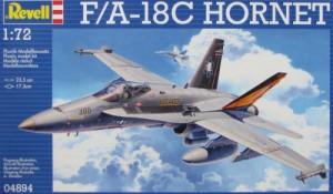 Модель для сборки Revell 'Палубный истребитель-бомбардировщик F/A-18C, 1:72' (04894)