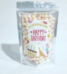 Подарок Маршмеллоу 'Happy birthday'