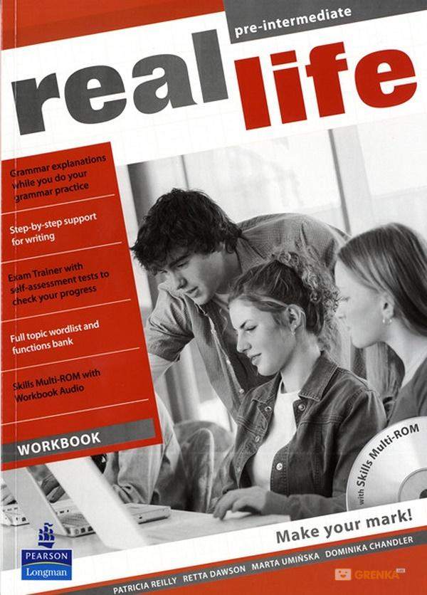 Купить Real Life Global Pre-Intermediate Workbook and Multi-ROM Pack, Retta Dawson, 978-1-4082-3515-7