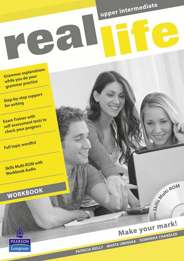 Купить Real Life Global Upper Intermediate Workbook and Multi-ROM Pack, Patricia Reilly, 9781408239483, 978-1-4082-3948-3