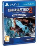 игра Uncharted 2: Among Thieves Remastered PS4 (русская версия)