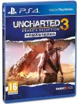 игра Uncharted 3: Drake's Deception  Remastered PS4 (русская версия)
