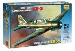 Сборная модель Звезда 'Советский бомбардировщик Су-2' 1:48 (4805)