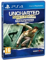 игра Uncharted: Drake's Fortune Remastered PS4 (русская версия)