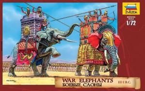 Сборная модель Звезда 'Боевые слоны 3-1 вв. до н.э.' 1:72 (8011)